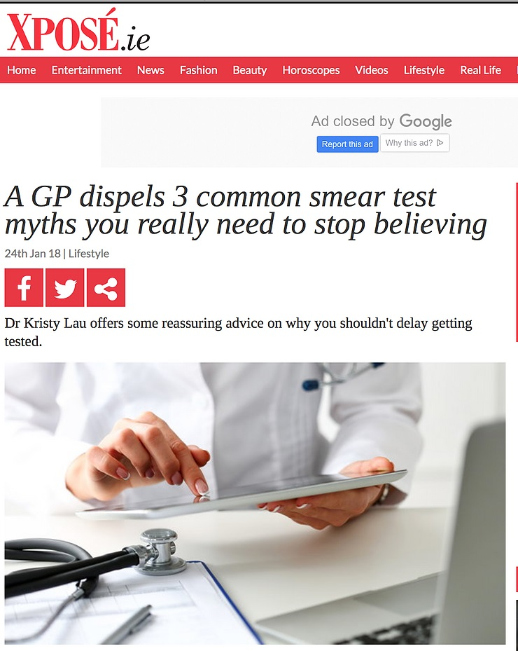 A GP dispels 3 common smear test myths you really need to stop believing
