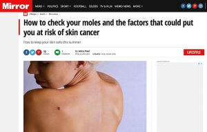 How to check your moles and the factors that could put you at risk of skin cancer
